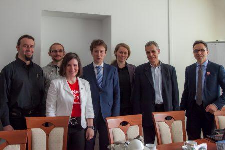 Spotkanie, Główny Konserwator Przyrody, Pan Minister Piotr Otawski